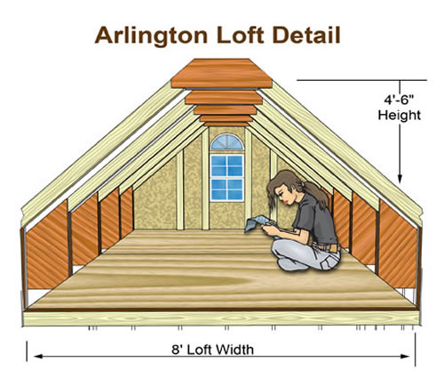 Arlington 12 X 20 Shed Kit By Best Barns
