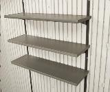 "5-Piece 14""x30\"" Shelf Accessory Kit for 11\' wide Sheds"