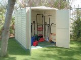 5 x 10.5 Yardsaver Shed with Floor & Foundation and Skylight