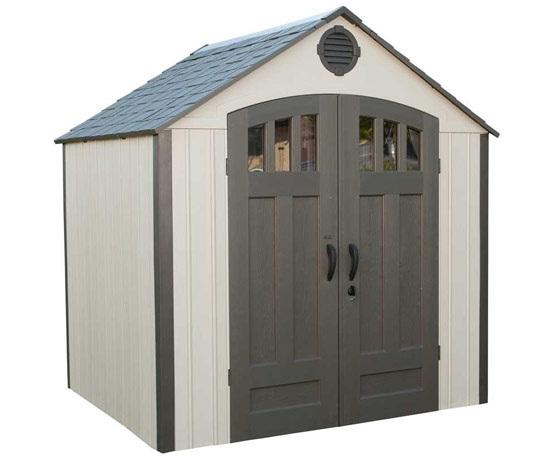 8 x 6 lifetime shed