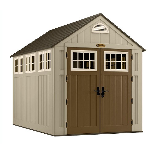 sheds are a premium choice in outdoor storage our suncast resin sheds