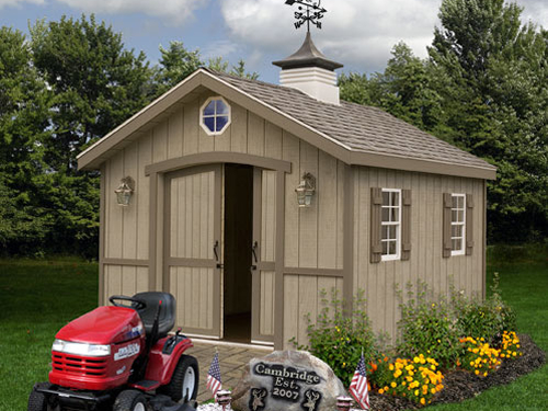 Cambridge by Best Barns Outdoor Wood Storage Shed 10 x 16