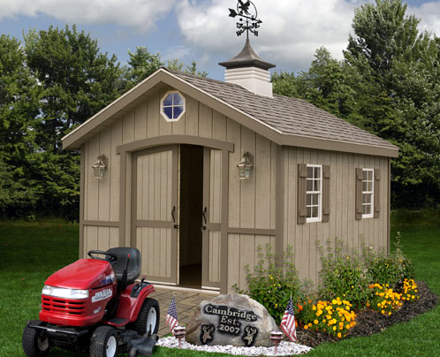 wood storage shed 10 x 12