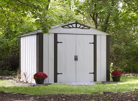 Arrow Designer Series Steel Shed 10' x 8'