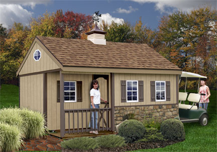 Best Barns Manorwood 12 x 16 Shed