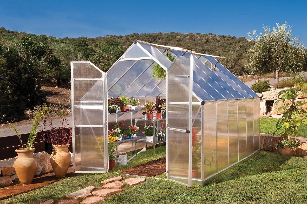 Essence 8' x 12' Hobby Greenhouse by Poly-Tex