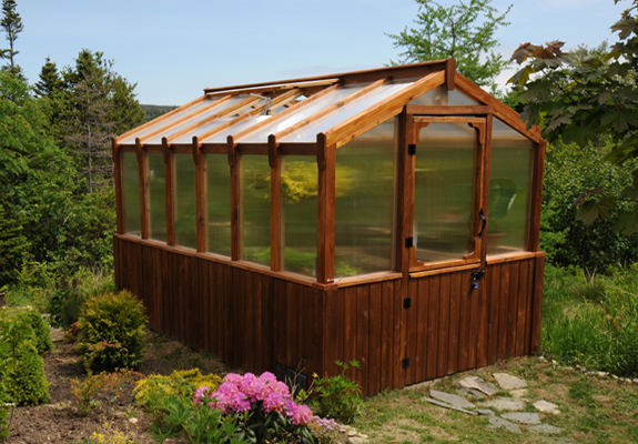 Outdoor Living Cedar Greenhouse 8'x12'