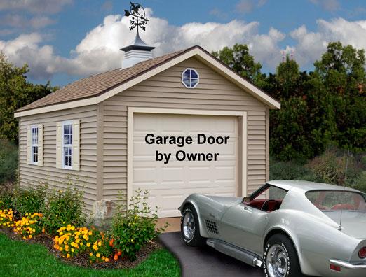 Greenbriar 12x20 vinyl prep garage kit by best barns for 20 x 25 garage kits
