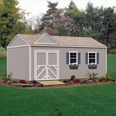 Columbia 12X20 Storage Building Kit-Handy Home