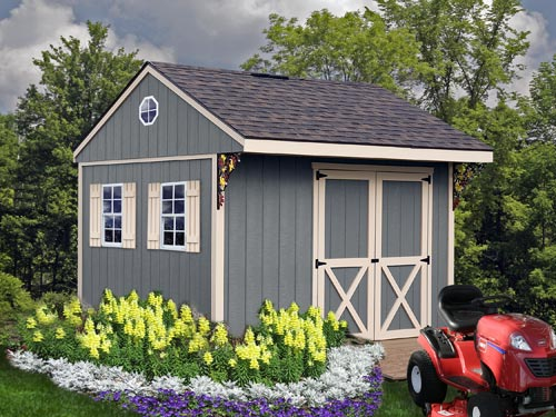 Best Barns Northwood 10 x 10 Wood Shed