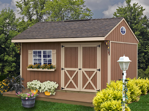 Best Barns Northwood 10 x 14 Wood Shed