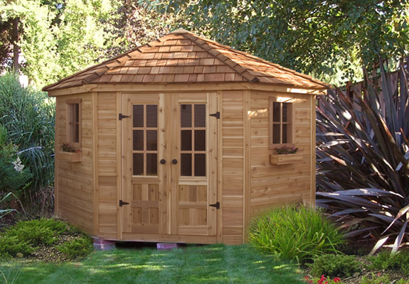 Outdoor Living 9x9 Penthouse Garden Shed
