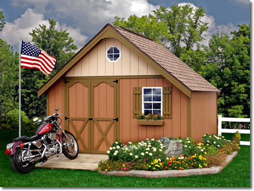 Best Barns Riviera 12 x 12 Shed Kit