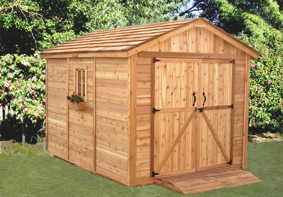 Outdoor Living 8x12 SpaceMaker Storage Shed