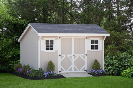 Wood Saltbox Classic Shed Kit by Little Cottages Co.