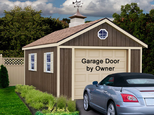 Best Barns Sierra 12 x 16 Wood Garage