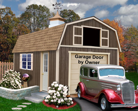 Best Barns Tahoe 12x16 Garage Kit