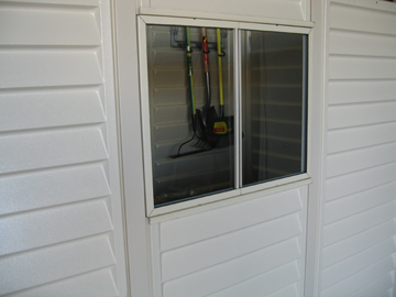 Window Kit for Duramate, Sidemate, and Yardsaver Vinyl Sheds