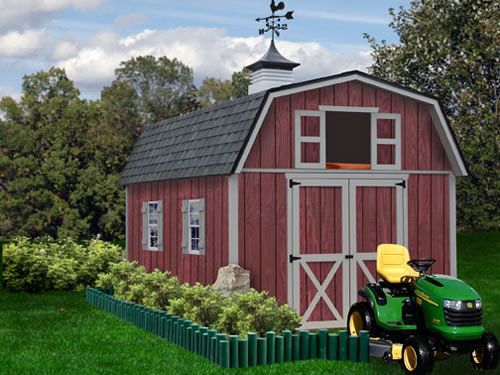 Best Barns Woodville 10x12 Shed Kit