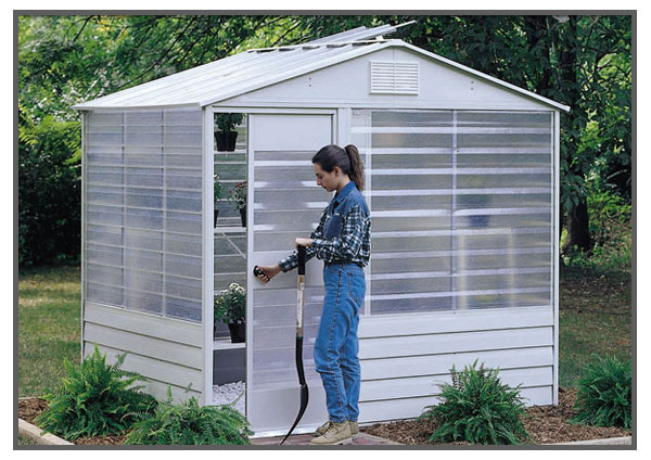 Arrow Sheds Greenhouse 8 x 6