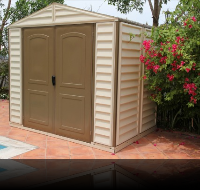 8 x 6 StoreAll Vinyl Shed w/ Foundation