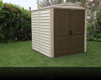 6 x 6 StoreMate Vinyl Shed With Floor