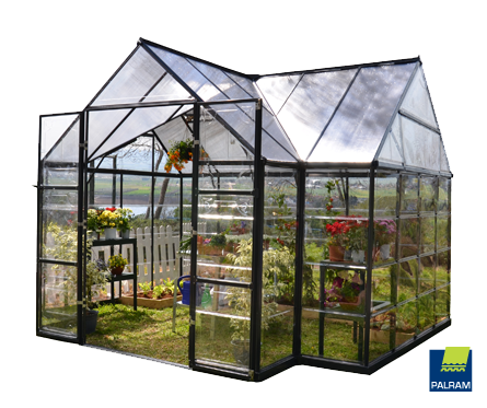 Chalet Hobby Greenhouse Kit by Poly-Tex