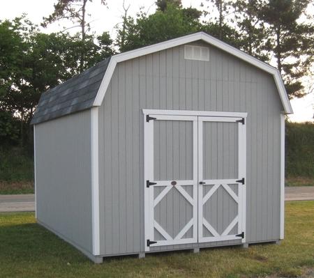 Wood Classic Gambrel Large Barn 14x18 16x34