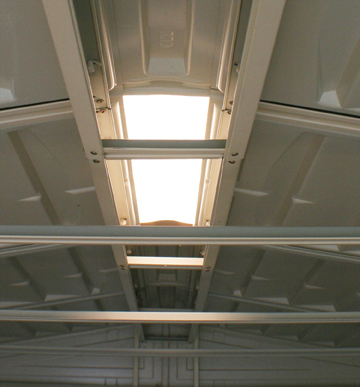 Skylight for DuraMax Sheds