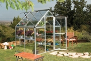 Harmony Silver 6 X 4 Greenhouse by Polytex