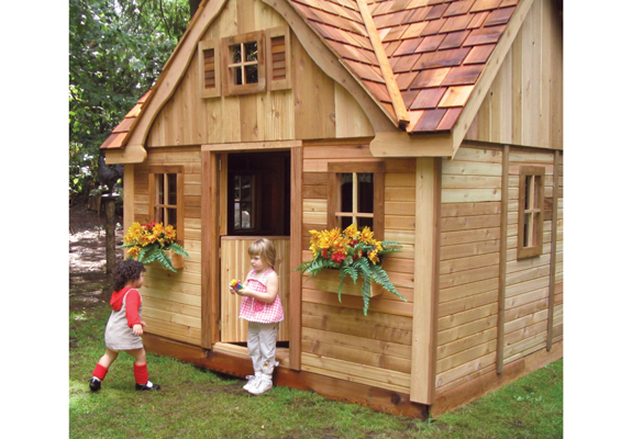 Lauren S Cottage Playhouse By Outdoor Living