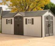 20 X 8 Lifetime Dual Entry Outdoor Storage Shed