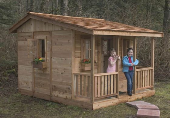 Cozy Cabin Playhouse 7x9 By Outdoor Living