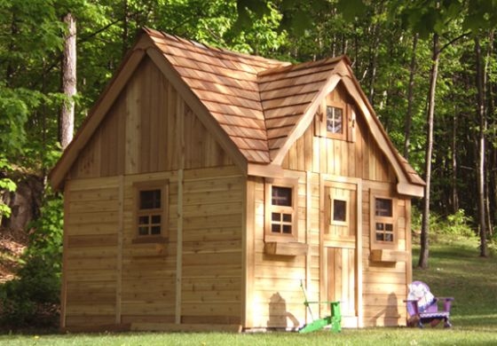 cottage playhouse by outdoor living