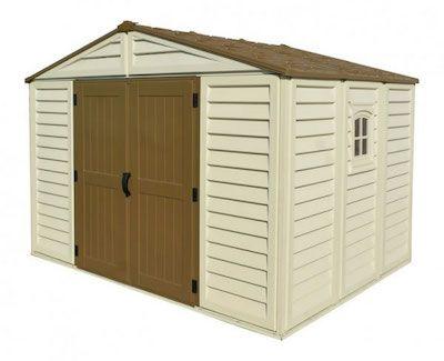 10 x 10 woodbridge plus storage shed wfoundation