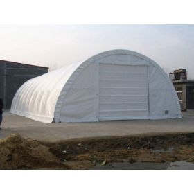 Rhino Shelter Commercial Round Building 30x40x15