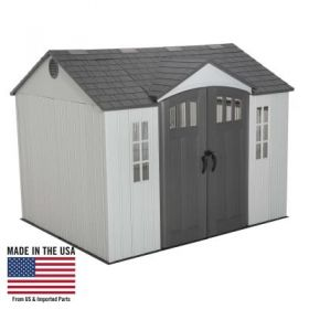 Lifetime 10 x 8 Side Entry Shed