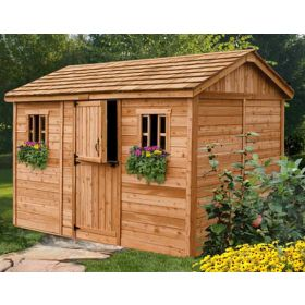 Outdoor Living 12' X 8' Cabana Garden Shed