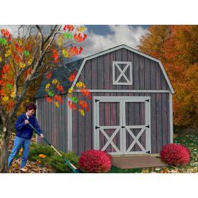 Best Barns Denver 12x20 Shed Kit