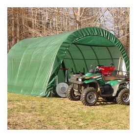 Rhino Shelter Instant Garage Round Style 12x20x8