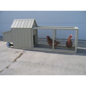 Corn Row Chicken Coop