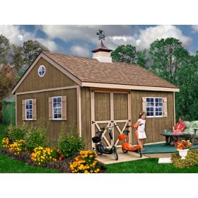 Best Barns New Castle 12 x 16 Wood Shed