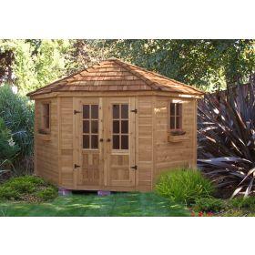 Outdoor Living 9'x9' Penthouse Garden Shed