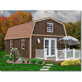 Best Barns Richmond 16 x 20 Wood Shed