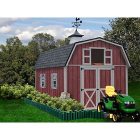 Best Barns Woodville 10x16 Shed Kit