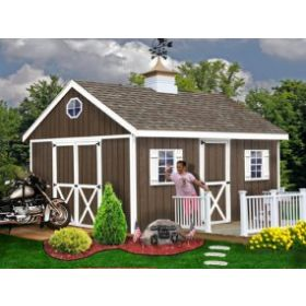 Best Barns Easton 12 x 20 Shed Kit
