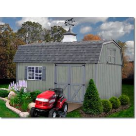 Best Barns Meadowbrook 10 x 16 Wood Shed