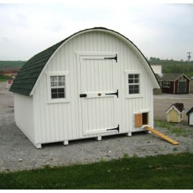 Round Roof Chicken Coop