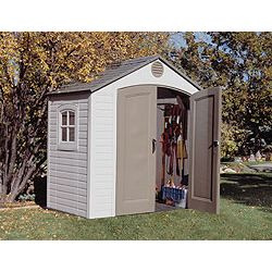 Lifetime 8' x 5' Outdoor Storage Shed w/ Window w/ FREE Skylight