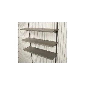 "5-Piece 14""x30"" Shelf Accessory Kit for 11' wide Sheds"